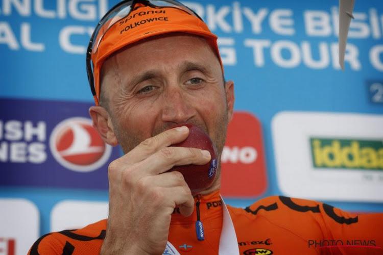 Davide Rebellin (48) denkt nog niet aan stoppen: wil nog Italiaans kampioen worden én rondrijden met de trui