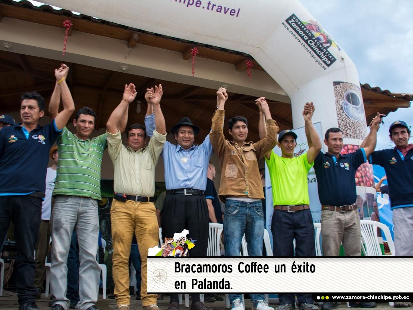 BRACAMOROS COFFEE UN ÉXITO EN PALANDA