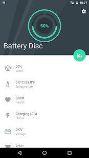 Beautiful Battery Disc Widget- screenshot thumbnail