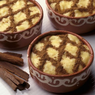 Portuguese Rice Pudding.