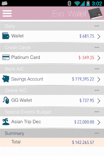 EvoWallet - Money Manager- screenshot thumbnail