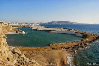 Photo: Segelturn-Griechenland-2010, Mykonos, Bau des neun Hafen