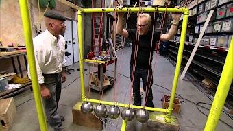 Newton's Crane Cradle