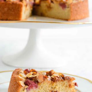 Gluten Free Raspberry Almond Breakfast Cake
