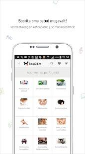 Kaup24.ee Mobiilne e-pood - náhled