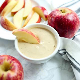 Simple Yogurt Peanut Butter Apple Dip.