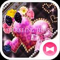 ★FREE THEMES★Sparkling Heart icon