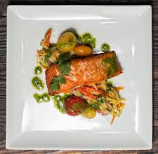 Photo: Salmon entree