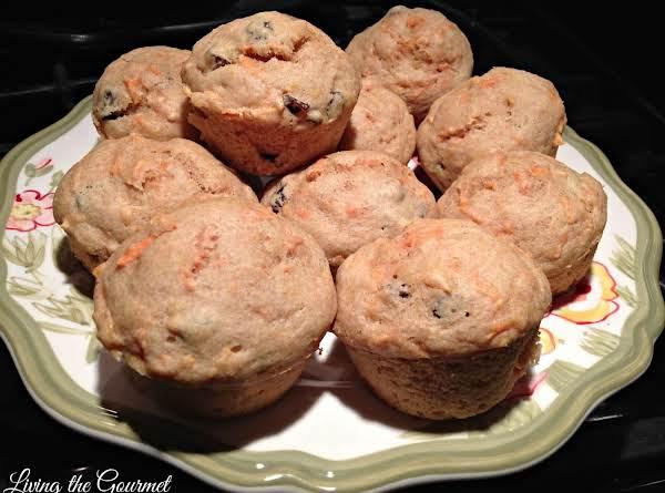 """light"" Carrot And Raisin Breakfast Muffins Recipe"