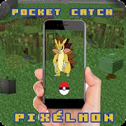 Pocket Pixelmon catch