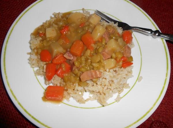 Busy Night Soup & Rice Recipe
