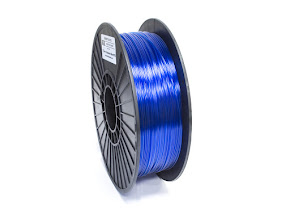 Translucent Blue PRO Series PETG Filament - 1.75mm (1lb)