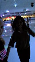 Photo: Bellan kanssa rullistelemalla Skate Rinkissä