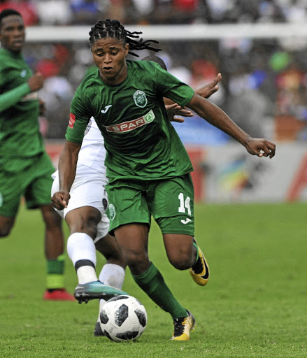 It took Siyethemba Mnguni five games before he made his PSL debut with AmaZulu.