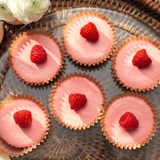 Frozen Mini Raspberry-Lemonade Pies.