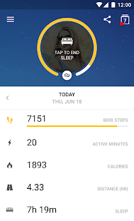 Runtastic Me: Activity Tracker Screenshot 6