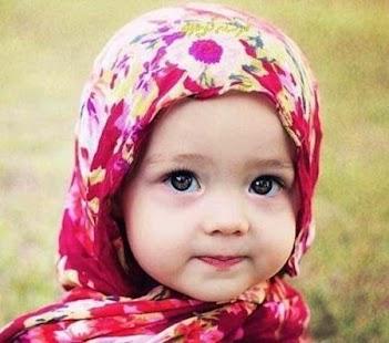 Cute Kids Hijab - náhled