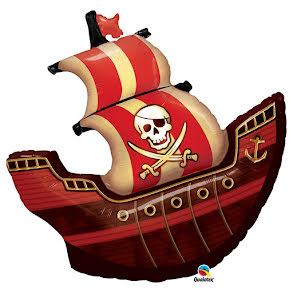 Folieballong, Piratskepp
