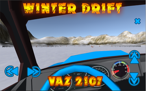 Winter Drift Tuning VAZ 2107