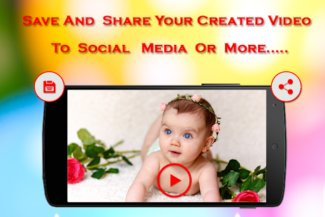 Baby Video Maker with Music - náhled