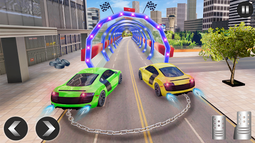 Chained Car Racing 2020: Chained Cars Stunts Games android2mod screenshots 6