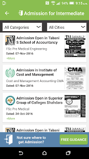 Admissions- screenshot thumbnail