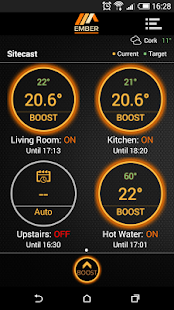 EMBER Smart Heating Control - náhled