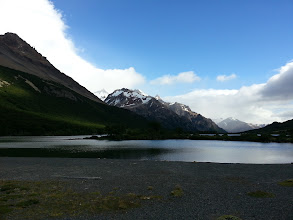 Photo: Daughter Lake, around Fitz Roy, Patagonia