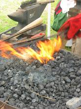 Photo: Blacksmith's flame