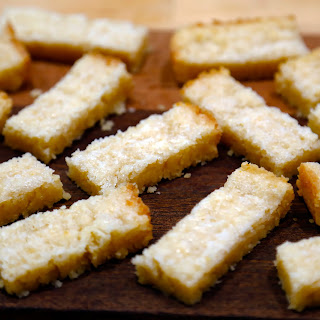 Lemony Shortbread.