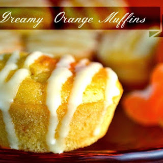 Dreamy Orange Muffins.