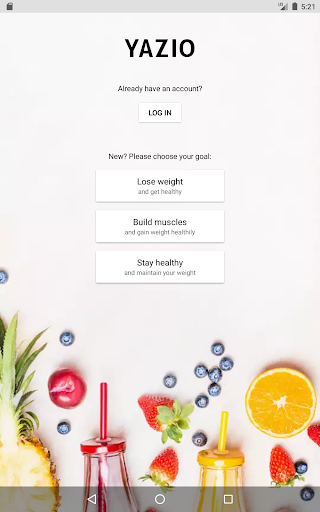 YAZIO Calorie Counter, Nutrition Diary & Diet Plan screenshot 10