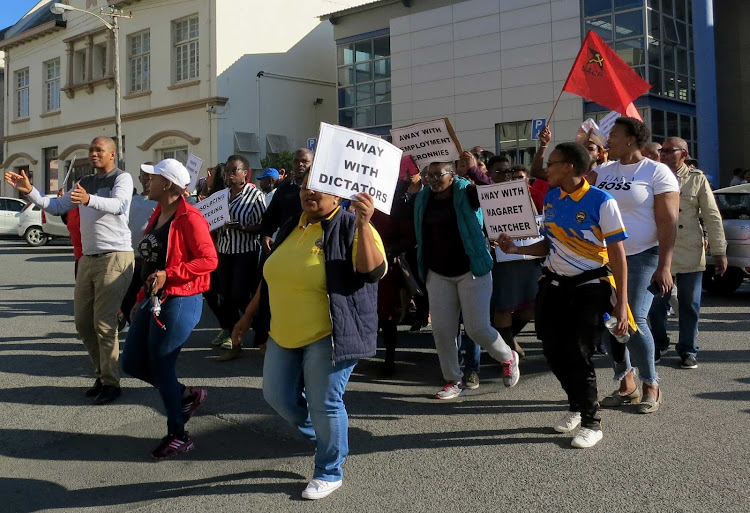 University of Fort Hare staff are currently on strike