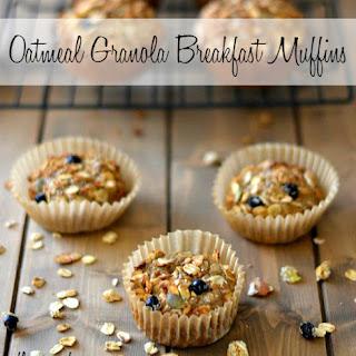 Oatmeal Granola Breakfast Muffins