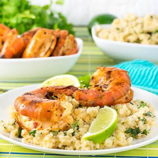 Grilled Chipotle Shrimp with Cilantro Lime Quinoa