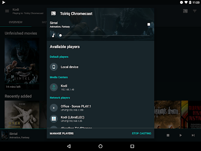 Yatse: управление и трансляция для Kodi Screenshot