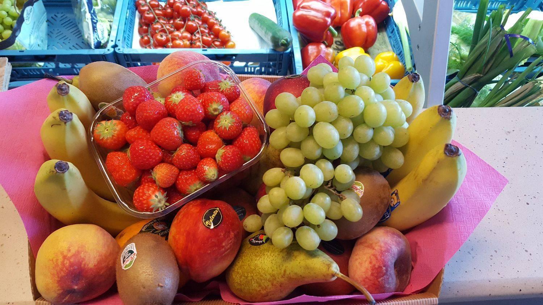 Groenten- en fruitkorven