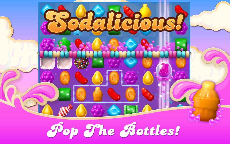 Pop fruit crush - Candy Crush Soda Saga Screenshot