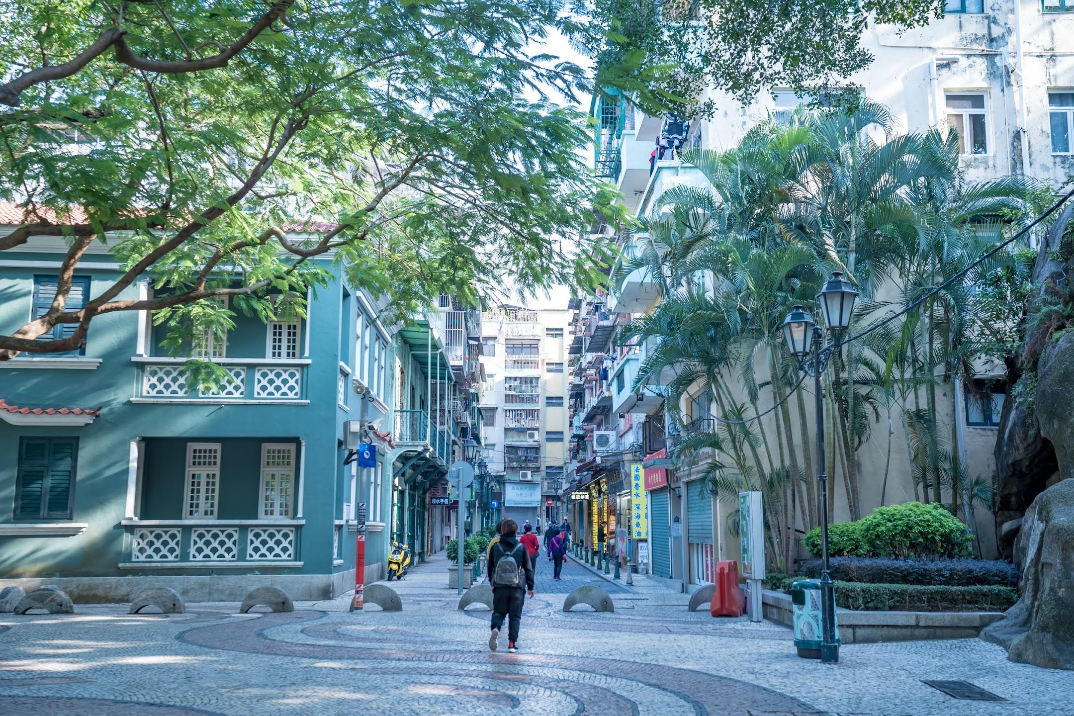 Macau Barra Square/媽閣廟前地/Rua da Barra3