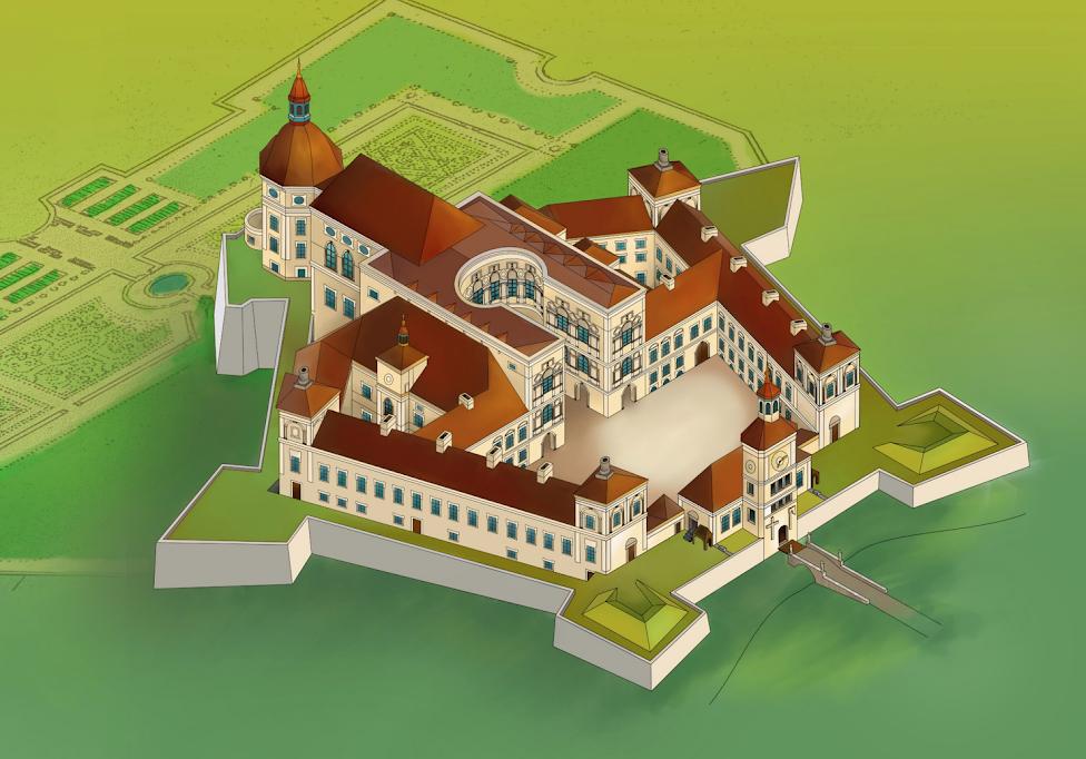 rekonstrukcja zamku Krzyżtopór w Ujeździe