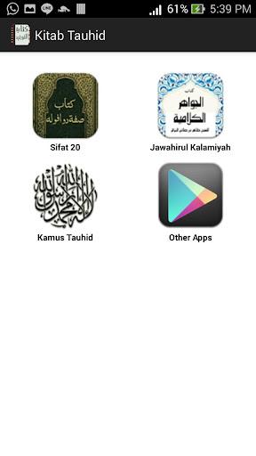 Kitab Tauhid Aqidah