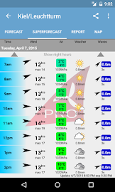 Windfinder Pro Screenshot 3