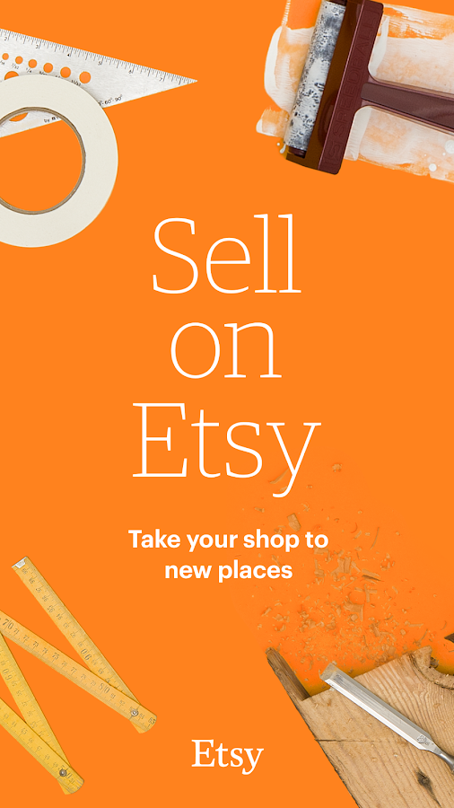 Sell on Etsy- screenshot