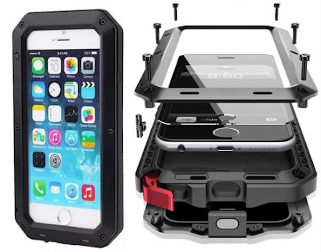 Army SHOCK-DROP  Aluminum-fodral för iPhone 6/6S