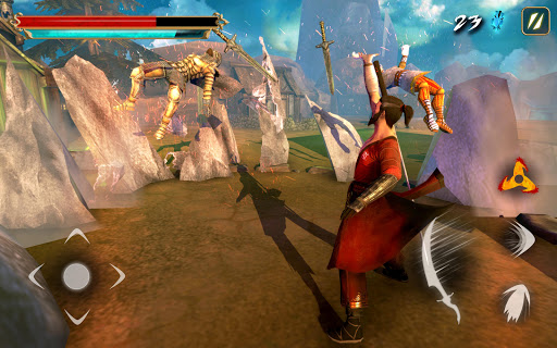 Takashi Ninja Warrior - Shadow of Last Samurai apkpoly screenshots 9