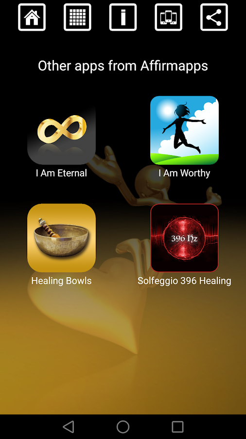 Self-Love Healing Affirmations Soundboard Mixer- screenshot