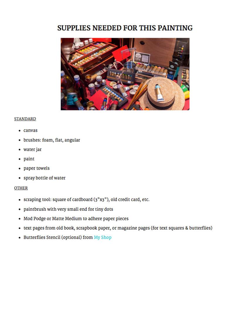 supplies, dianadellos.com