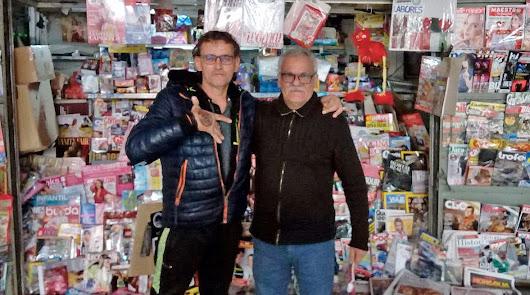 Conmoción por la muerte de Alberto, el quiosquero de 'Simago'
