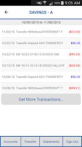 CVFCU Mobile Banking screenshot 2