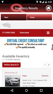 Integrity Kia screenshot